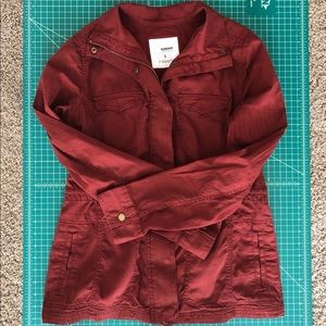 Worn once | Sonoma | brick red utility jacket | S